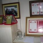 Derneğimiz adına Başkanımız Musa AKKAYA verilen madalya ve beratlar  (3)